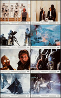 "Movie Posters:Science Fiction, The Empire Strikes Back (20th Century Fox, 1980). Mini Lobby CardSet of 8 (8"" X 10""). Science Fiction.. ... (Total: 8 Items)"