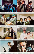 "Movie Posters:Crime, The Enforcer (Warner Brothers, 1977). Mini Lobby Card Set of 8,Photos (8), & Trimmed Photo (8"" X 10""). Crime.. ... (Total: 17Items)"