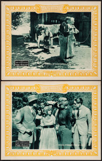 "Rosemary Climbs the Heights (American Film Company, 1918). Lobby Cards (2) (11"" X 14""). Drama. ... (Total: 2 I..."