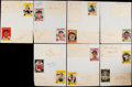 Autographs:Index Cards, 1959 Pittsburgh Pirates Signed Sheets....