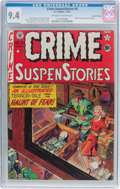 Golden Age (1938-1955):Crime, Crime SuspenStories #9 Gaines File Pedigree 11/11 (EC, 1952) CGC NM 9.4 Off-white to white pages....