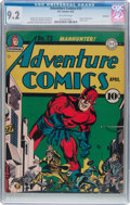 Golden Age (1938-1955):Superhero, Adventure Comics #73 Rockford Pedigree (DC, 1942) CGC NM- 9.2 Off-white pages....