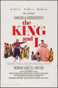 """The King and I (20th Century Fox, R-1965). One Sheet (27"""" X 41""""). Musical"""