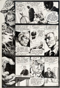 Original Comic Art:Panel Pages, Dan Day and John Totleben Saga of the Swamp Thing #20 Page 4Original Art (DC, 1984)....