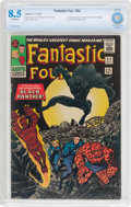 Silver Age (1956-1969):Superhero, Fantastic Four #52 (Marvel, 1966) CBCS VF+ 8.5 Off-white pages....