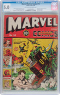 Golden Age (1938-1955):Superhero, Marvel Mystery Comics #10 (Timely, 1940) CGC VG/FN 5.0 Light tan to off-white pages....