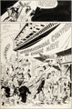 "Jim Steranko International Convention of Comic Book Art Show Promotion ""The Conventioneers"" Page 2 Nick Fury O..."