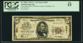 National Bank Notes:Pennsylvania, Smethport, PA - $5 1929 Ty. 1 The Grange NB of McKean County Ch. #8591. ...