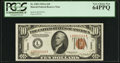 Small Size:World War II Emergency Notes, Fr. 2303 $10 1934A Hawaii Federal Reserve Note. PCGS Very Choice New 64PPQ.. ...