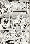 Original Comic Art:Panel Pages, Sal Buscema and Jim Mooney Sub-Mariner #35 Page 7 OriginalArt (Marvel, 1971)....