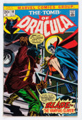 Bronze Age (1970-1979):Horror, Tomb of Dracula #10 (Marvel, 1973) Condition: FN-....