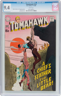 Tomahawk #125 (DC, 1969) CGC NM 9.4 White pages