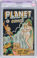 Golden Age (1938-1955):Science Fiction, Planet Comics #56 (Fiction House, 1948) CGC Apparent FN/VF 7.0Slight (C-1) Cream to off-white pages....
