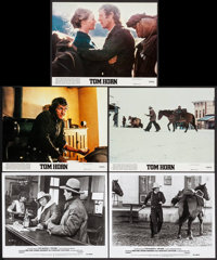 "Tom Horn & Others Lot (Warner Brothers, 1980). Mini Lobby Cards (3), Photos (2) (8"" X 10""), Lobby Card..."