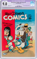 Golden Age (1938-1955):Cartoon Character, Walt Disney's Comics and Stories #31 (Dell, 1943) CGC ApparentVF/NM 9.0 Slight (C-1) Cream to off-white pages....