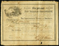 Confederate Notes:Group Lots, Ball 366 Cr. 154 $1000 1864 Six Per Cent Non Taxable Certificate Fine.. ...