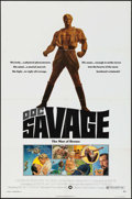 "Movie Posters:Adventure, Doc Savage: The Man of Bronze (Warner Brothers, 1975). One Sheets(2) (27"" X 41""). Advance and Regular Style. Adventure.. ... (Total:2 Items)"