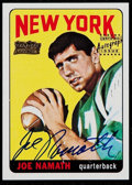 Football Cards:Singles (1970-Now), 2001 Topps Team Topps Legends Joe Namath Autograph #122....
