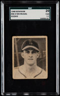 Baseball Cards:Singles (1940-1949), 1948 Bowman Stan Musial #36 SGC 20 Fair 1.5....