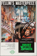 "Movie Posters:Foreign, Juliet of the Spirits (Rizzoli, 1965). One Sheet (27"" X 41"") & Pressbook (11"" X 13.5""). Foreign.. ... (Total: 2 Items)"