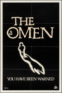 "The Omen (20th Century Fox, 1976). One Sheets (2) (27"" X 41"") & Cut Pressbook (17 Pages, 8"" X 11""..."