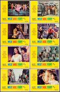 "Movie Posters:Academy Award Winners, West Side Story (United Artists, R-1968). Lobby Card Set of 8 (11""X 14""), Uncut Pressbooks (2) & Cut Pressbooks (3) (11"" X ...(Total: 13 Items)"