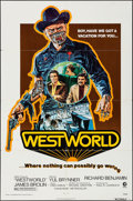 "Movie Posters:Science Fiction, Westworld (MGM, 1973). One Sheet (27"" X 41"") & Pressbook (16Pages, 8.5"" X 13.5""). Science Fiction.. ... (Total: 2 Items)"