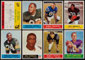 Football Cards:Lots, 1960 to 1965 Fleer and Philadelphia Football Collection (83)....