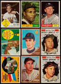 Baseball Cards:Lots, 1960 to 1962 Topps and Fleer Baseball Collection (166)....