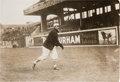 Baseball Collectibles:Photos, Circa 1915 Christy Mathewson Original News Photograph by GeorgeGrantham Bain, PSA/DNA Type 1....