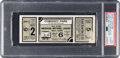 Baseball Collectibles:Tickets, 1933 Major League Baseball All-Star Game Full Ticket, PSAAuthentic....