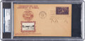 Baseball Collectibles:Others, 1939 Cy Young Signed Hall of Fame Grand Opening First Day Cover,PSA/DNA Authentic.. ...