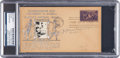 Baseball Collectibles:Others, 1939 Honus Wagner Signed Hall of Fame Grand Opening First DayCover, PSA/DNA Authentic....