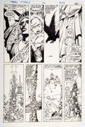 Original Comic Art:Panel Pages, George Perez and Romeo Tanghal The New Teen Titans #26 page 13 Original Art (DC, 1982)....