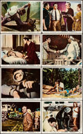 """Movie Posters:James Bond, Thunderball (United Artists, 1965). British Front of House Color Photo Set of 8 (8"""" X 10""""). James Bond.. ... (Total: 8 Items)"""