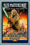 "Movie Posters:Science Fiction, Star Wars: Episode II - Attack of the Clones (20th Century Fox,2002). IMAX One Sheet (27"" X 40""). DS Style A. Science Ficti..."