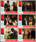"""Movie Posters:Academy Award Winners, In the Heat of the Night (United Artists, 1967). Lobby Cards (6) (11"""" X 14""""). Academy Award Winners.. ... (Total: 6 Items)"""