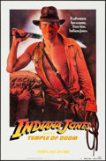 "Movie Posters:Adventure, Indiana Jones and the Temple of Doom (Paramount, 1984). One Sheet(27"" X 41""). Teaser, White Background. Adventure.. ..."