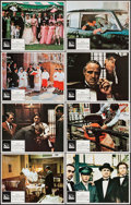 "Movie Posters:Crime, The Godfather (Paramount, 1972). Lobby Card Set of 8 (11"" X 14"").Crime.. ... (Total: 8 Items)"