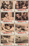 """Movie Posters:James Bond, From Russia with Love (United Artists, 1964). Lobby Card Set of 8 (11"""" X 14""""). James Bond.. ... (Total: 8 Items)"""