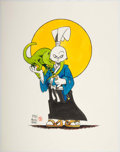 Original Comic Art:Illustrations, Stan Sakai - Usagi Yojimbo Illustration Original Art (1987). ...