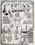 Original Comic Art:Covers, Robert Crumb Weirdo #23 Cover Original Art (Last Gasp,1988)....