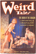 "Pulps:Horror, Weird Tales ""The Hour of the Dragon"" Group of 5 (Popular Fiction,1935-36).... (Total: 5 Items)"