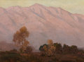 Fine Art - Painting, American, Edgar Alwin Payne (American, 1883-1947). CaliforniaFoothills. Oil on canvas. 16 x 22 inches (40.6 x 55.9 cm). S...
