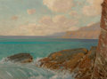 Fine Art - Painting, American, Frank Cuprien (American, 1871-1948). Laguna Coast. Oil oncanvas. 18 x 24 inches (45.7 x 61.0 cm). Signed lower right: ...