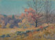 Maurice Braun (American, 1877-1941) Autumn Sketch Oil on canvas laid on board 10 x 14 inches (25.4 x 35.6 cm) Signed