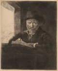 Fine Art - Work on Paper:Print, After Rembrandt van Rijn (Dutch)Rembrandt D...