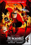 """Movie Posters:Animation, The Incredibles & Other Lot (Buena Vista, 2004). PromotionalPoster (18"""" X 27"""") DS Advance & One Sheet (27"""" X 40"""").Animatio... (Total: 2 Items)"""