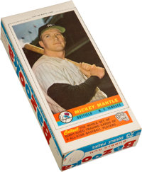1959 Bazooka Mickey Mantle Complete Box--Finest Example Known