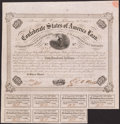 Confederate Notes:Group Lots, Ball 221 Cr. 121 $500 1863 Bond Fine.. ...
